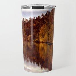 RADIANT AUTUMNAL REFLECTION Travel Mug