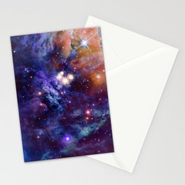 Bright nebula Stationery Cards