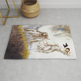 Louis Icart - Hunting - Supreme Delight - Digital Remastered Edition Rug