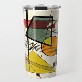 Wassily Kandinsky - Melodisch Travel Mug