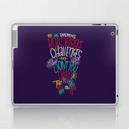 Roadblocks & Challenges Laptop & iPad Skin