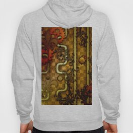 Noble Steampunk design, clocks and gears Hoody
