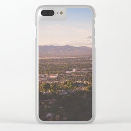Mulholland Drive Clear iPhone Case