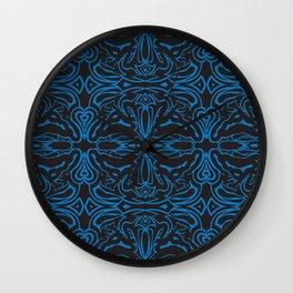 Angry_pattern Wall Clock