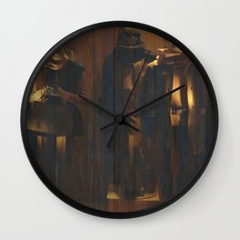 Mannequns 43 Wall Clock