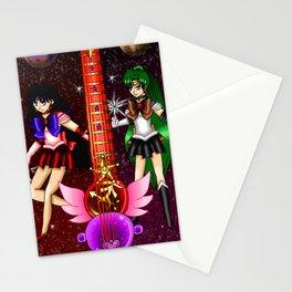 Fusion Sailor Moon Guitar #30 - Sailor Mars & Sailor Pluto Stationery Cards