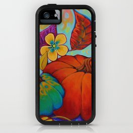 Jeweled Color Pumpkin iPhone Case