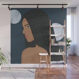 Moon Baby Wall Mural