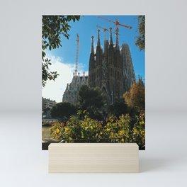 La Sagrada Familia Mini Art Print