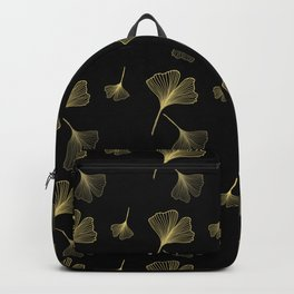 Ginkgo Black Gold Backpack