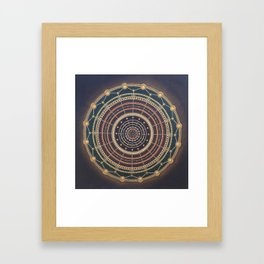 GROUNDING CONNECTION Framed Art Print