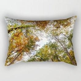Fall Tree Tops Rectangular Pillow
