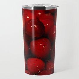 Cranberries Photography Print Travel Mug