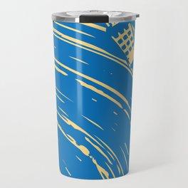 blues vinyl Travel Mug