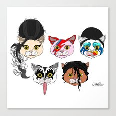 Pop Cats Canvas Print