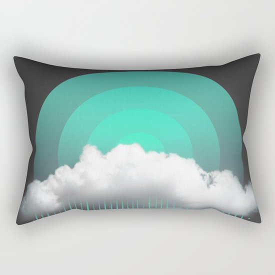 Rainy Daze Rectangular Pillow