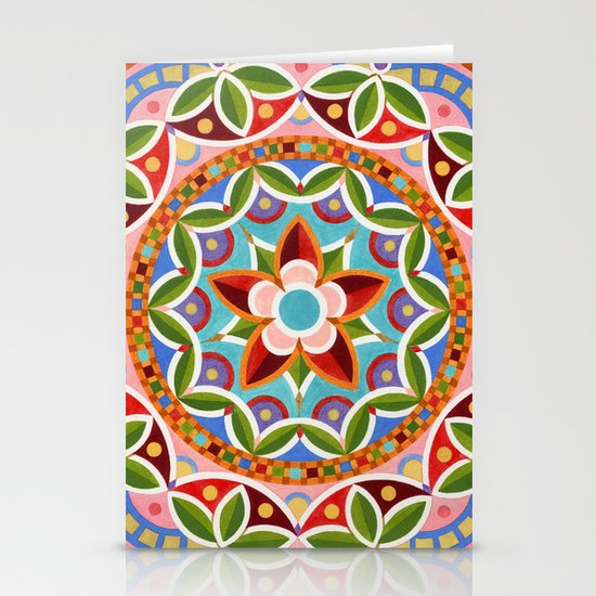 Circus Mandala Stationery Cards