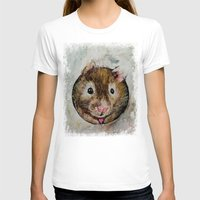 hamster T-shirts featuring Hamster Love by Michael Creese