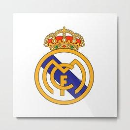 Real Madrid Logo Metal Print