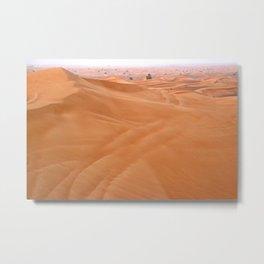 Arabian Desert Safari Metal Print