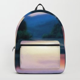 Colorful Lake Backpack