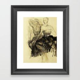 Hommage à Degas I Framed Art Print