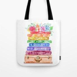 Diverse Books Tote Bag