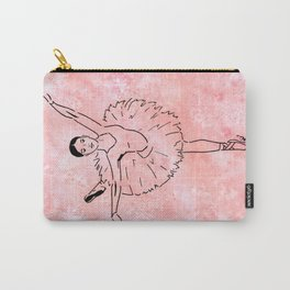 Ballet  (Ballet dancer in arabesque wearing a tutu) Carry-All Pouch