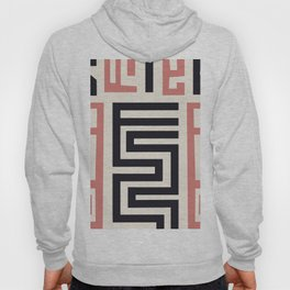 African Tribal Pattern No. 30 Hoody