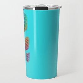 blue mermaid Travel Mug