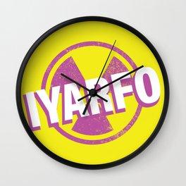 IYARFO Magenta 2 Wall Clock