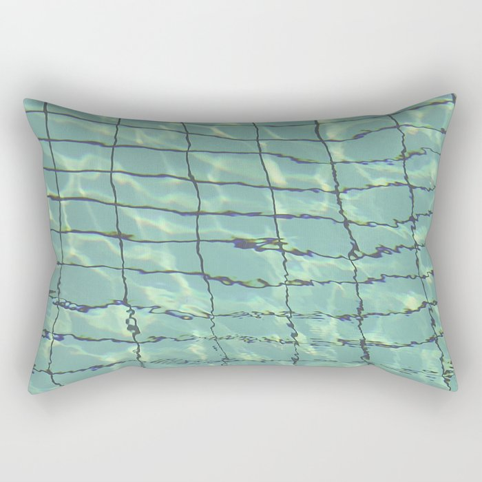 Water pattern Rectangular Pillow