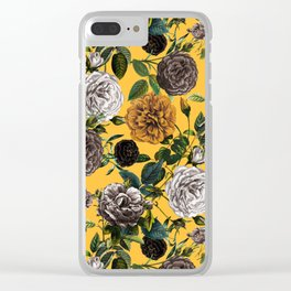 Summer Botanical Garden XI Clear iPhone Case