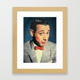 Pee-wee Herman Framed Art Print