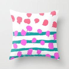 Summer Colours Throw Pillow