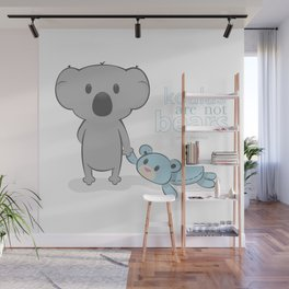 Koalas are not bears Wall Mural