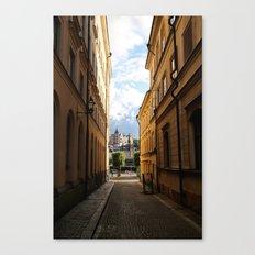 Stockholm Sunset Canvas Print