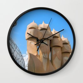 Gaudi Series - Casa Milà No. 3 Wall Clock
