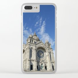 Cathedral of Santa Luzia Clear iPhone Case