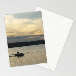 Sunset Lake Photography Art Stationery Cards