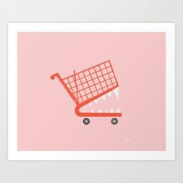 Consumerism | Carefree Art Print