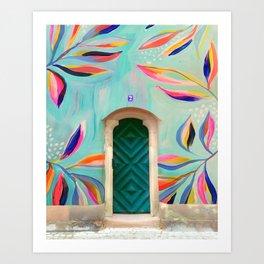EttaVee Happy Home no.7 Art Print
