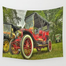 Stanley Steam Car Wall Tapestry