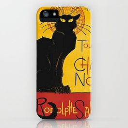 Tournée du Chat noir iPhone Case