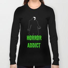 Horror Addict Long Sleeve T-shirt