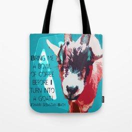 Goatee Tote Bag