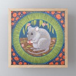 Australian Potoroo Framed Mini Art Print