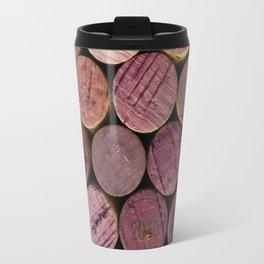 Red Wine Corks 2 Travel Mug