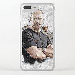 Jason Graffiti Art Clear iPhone Case