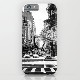 New York City Streets Contrast iPhone Case